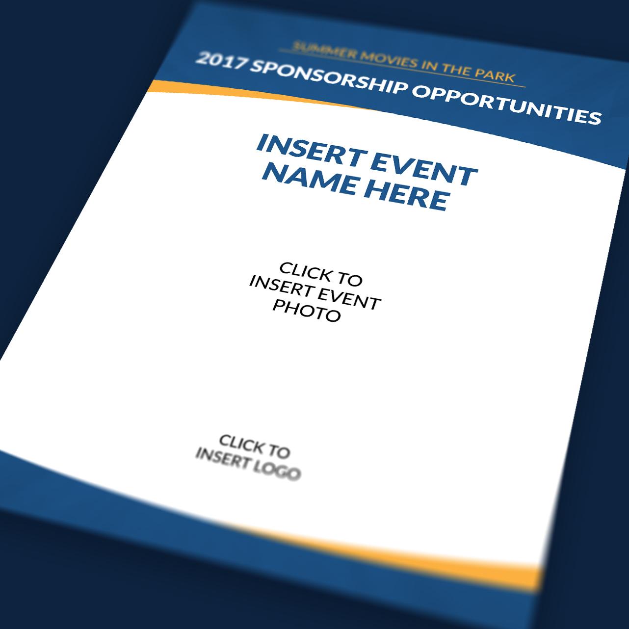Erfreut Event Sponsoring Vorlage Galerie - Entry Level Resume ...